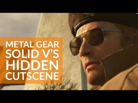 Metal Gear Solid V's nuclear disarmament cutscene