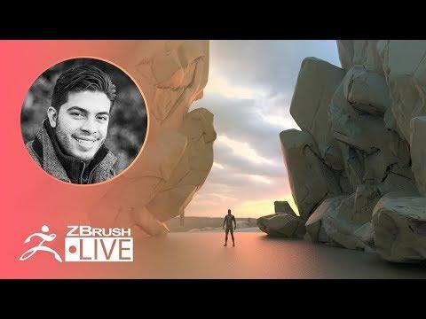 ZBrush Guides: Boulder & Stones – Pablo Muñoz Gómez – Episode 23