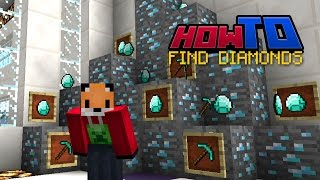 HOW TO FIND DIAMONDS | Top Tips | Tutorial | Guide | How to Minecraft