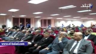 بالفيديو والصور.. المفتي لشباب جامعة الفيوم: ابتعدوا عن غير المتخصصين