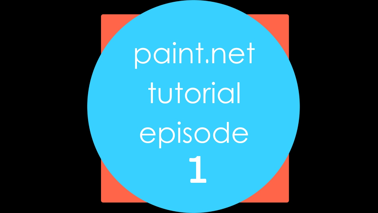 fundamental basic concepts comprehensive paint net