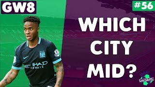 Who to bring in - sane, silva or sterling?! | let's talk fantasy premier league 2017/18 | #56