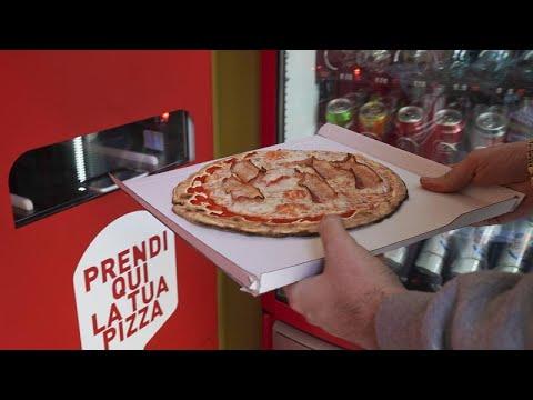 شاهد: ابتكار جديد في إيطاليا.. جهاز لخبز البيتزا في 3 دقائق في شوارع  روما…  - نشر قبل 2 ساعة