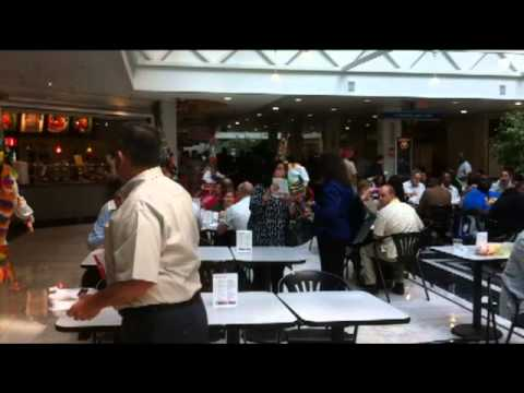 Gombeys Dance At Peachtree Mall in Atlanta, March 23 2011