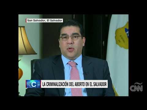 """El Fiscal General Raúl Melara: estar """"de auerdo o no con el aborto, no es importante"""" en El Salvador"""