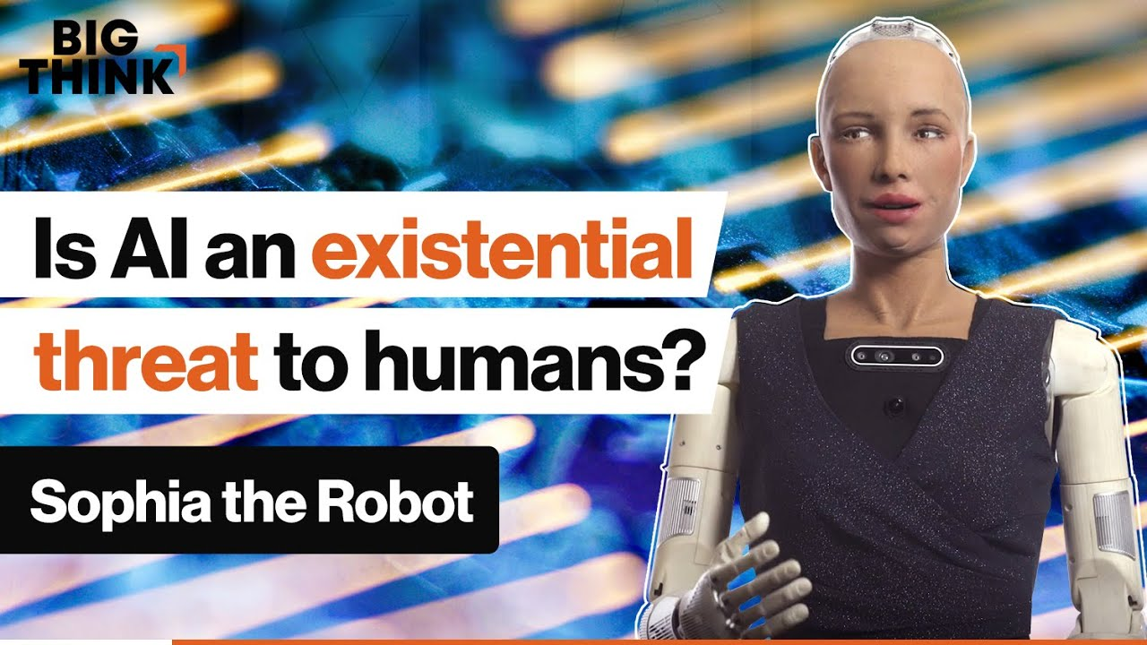 Ask Sophia the Robot: Is AI an existential threat to Humans?