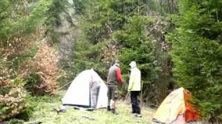 Cheile Rasnoavei - Umbla creanga, cu cortul