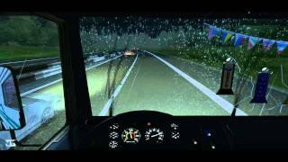 HD / Российские дальнобойщики / [ VM GROUP | 1080p ](Производство: VM GROUP Автомобиль: VOLVO F16 Game: German Truck Simulator ( SCS SoftWare) Музыкальное сопровождение: • Указано в видео...., 2012-01-23T22:12:11.000Z)