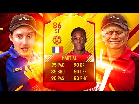 WOW 86 RATED SIF MANCHESTER MARTIAL! THE BEST STRIKER IN FIFA?! FIFA 17 ULTIMATE TEAM