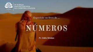 A verdadeira  benção de Deus  Nm 6.1-27 l Pr. Clélio Simões 04/07/2021
