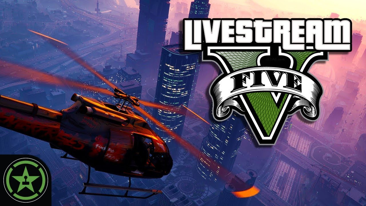 Let's Play: GTA V Jackbag: AH Live Stream