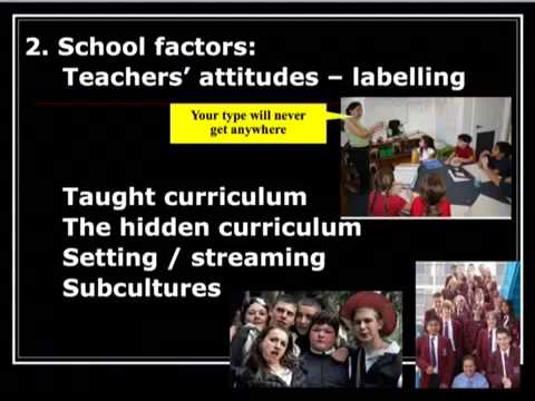 2. Class and Diff achievement home and school factors