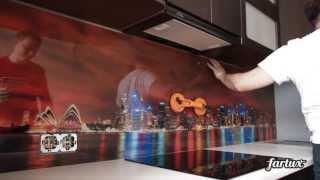 Монтаж кухонного фартука из стекла(, 2013-04-11T13:15:09.000Z)
