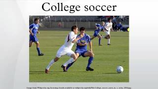 College soccer