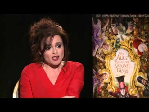 ALICE THROUGH THE LOOKING GLASS: Helena Bonham Carter Deals with Hours of Make-up
