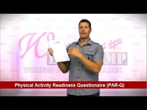 Physical Activity Readiness Questionaire PAR Q