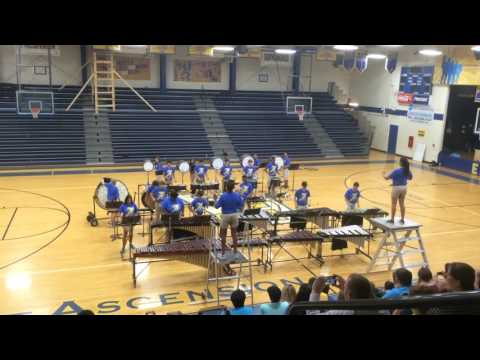 "East Ascension High School Drumline ""Beyond the Forest's Edge"" First Movement"