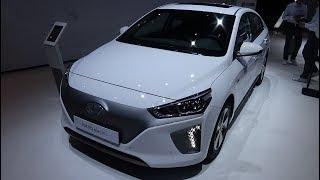 2018 Hyundai Ioniq Electric - Exterior and Interior - Geneva Motor Show 2018