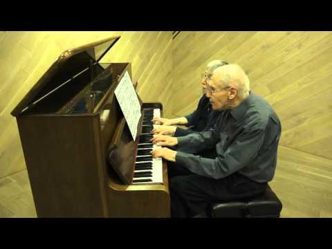 Márta and György Kurtág play Bach-transcriptions by Kurtág