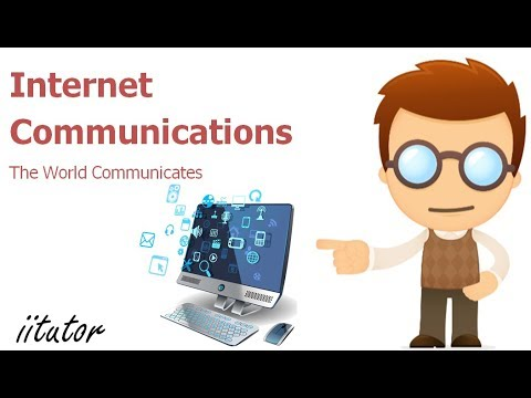 √√ Internet Communications | The World Communicates