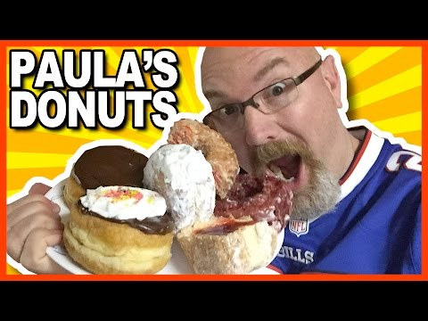 Paula's Donuts from Buffalo, New York thanks Ryan