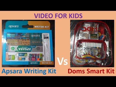 Apsara Writing Kit Vs Doms Smart Kit