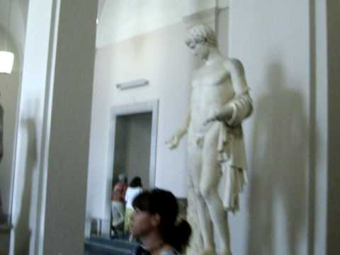 Fine Greek sculptures in German hands