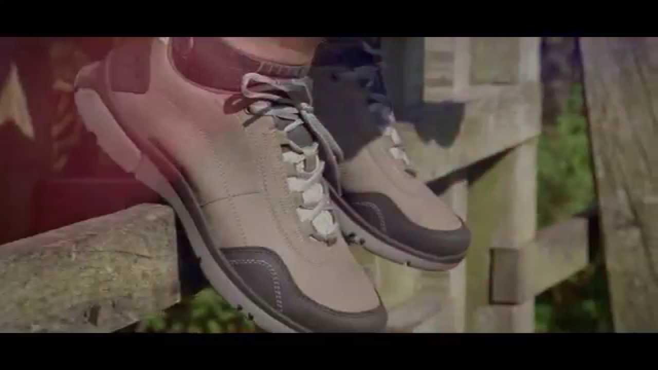 90932692d50b Clarks WAVEWALK Luminate Wake Men s Walking Shoe - YouTube