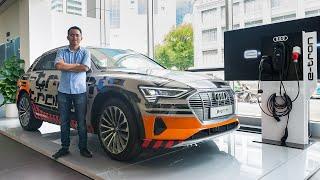 Audi e-tron - Xe điện thương mai đầu tiên của Audi - Đã có mặt ở Việt Nam