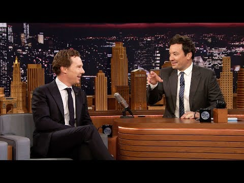 During Commercial Break: Benedict Cumberbatch