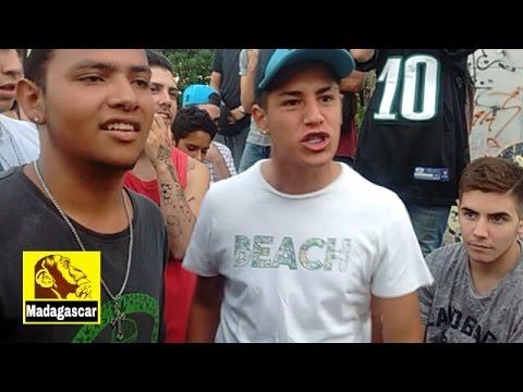 TOTY y CLANECLI vs FONSECA y NEKRO/ Semifinal- Tercera Fecha/ Madagascar