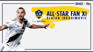 Zlatan Ibrahimović Named to 2018 MLS All-Star Fan XI, Presented by Target