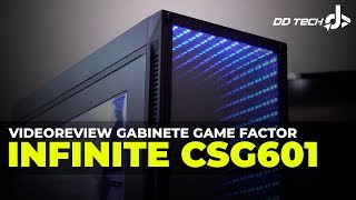 VIdeoreview Gabinete Infinite CSG601 Game Factor RGB