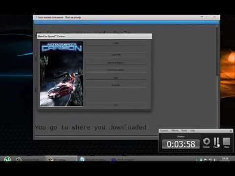 Download and Install Need for Speed ​​Carbon (uTorrents)