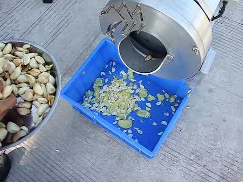 industrial vegetable ginger garlic lemon lime onion rings slicer slice cutting machine