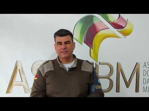 Comandante do CRPO-L visita Asofbm