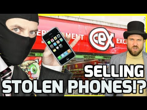 CEX Selling Stolen Phones!? -  CEX Non Gaming Scandal