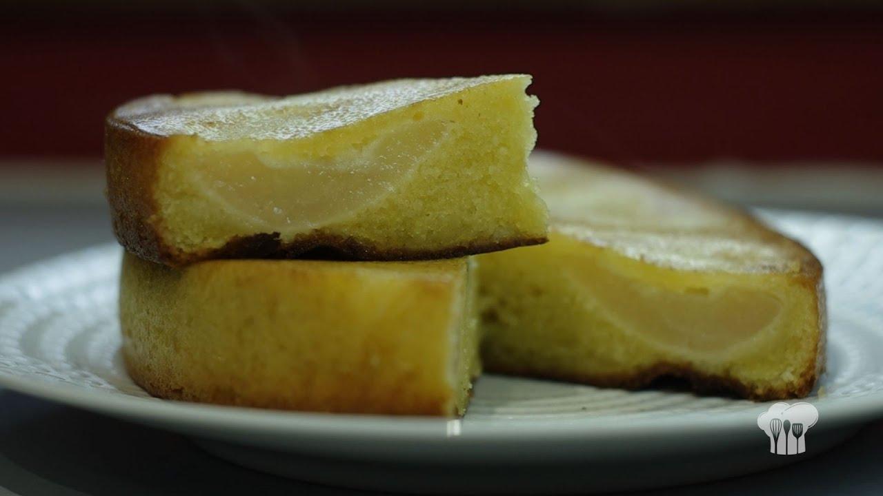 Gateau aux poires avec poudre d'amandes