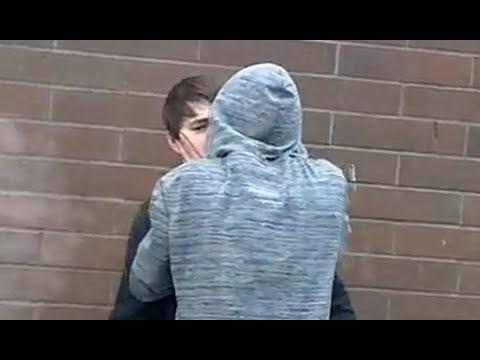 Boys kissing tube
