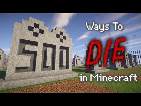 500-ways-to-die-in-minecraft---compilation-of-parts-1-10