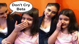 Kareena Kapoor Little Fan Crying After Meeting Her