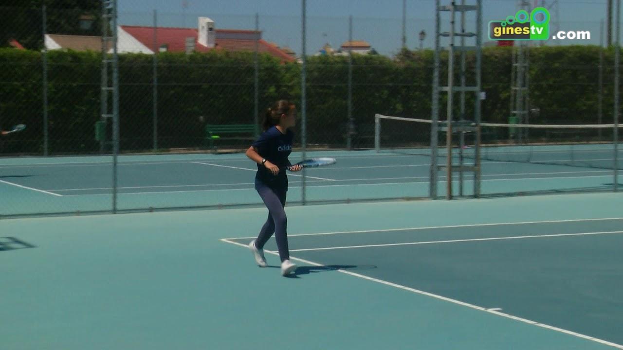 El Polideportivo municipal acogió la final de Diputación de Tenis entre Gines y Bormujos
