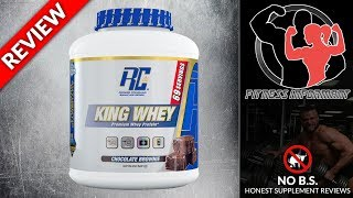 Ronnie Coleman Signature Series King Whey REVIEW (NO B.S - 100% Honest) | Fitness Informant