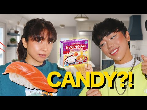 Making DIY Japanese Candy   Japanese Mom Tries Popin' Cookin'   worldofxtra