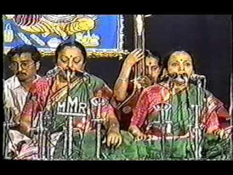 Bombay Sisters live at Thiruvayyaru
