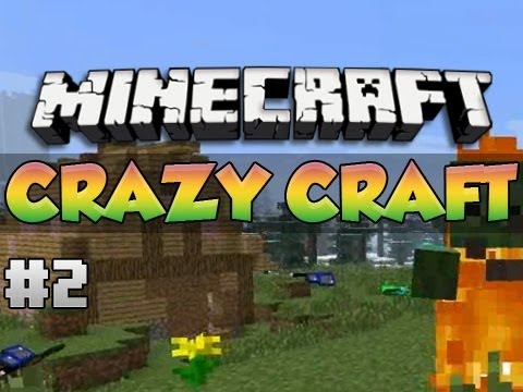 Minecraft: Crazy Craft | FAIRY FLOSS HOUSE! | Episode 2