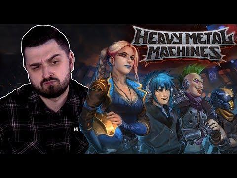 видео: ГОНКИ НА ВЫЖИВАНИЕ ВЕРНУЛИСЬ?! ►  moba heavy metal machines