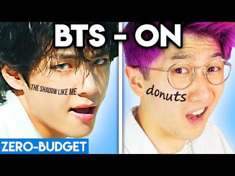 K-POP WITH ZERO BUDGET! (BTS - 'ON' Kinetic Manifesto Film PARODY)