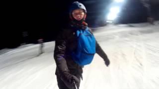 Светящийся сноуборд(Как вам идея нашего гостя Романа Иванова Romen Ivanov сделать вечернее катание еще более ярким и веселым с помощь..., 2016-02-01T15:28:07.000Z)