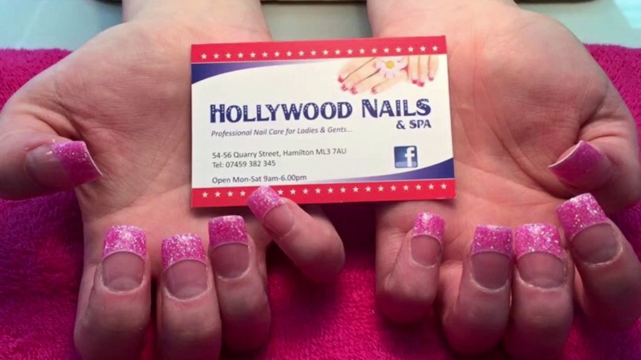 Hollywood nails hamilton 2 - YouTube